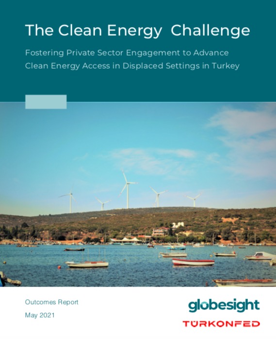 Clean Energy Challenge Report Cover Image